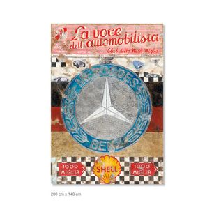 Ferencz Olivier - Racing Legends - Mille Miglia - Overall Winners - Section Mercedes-Benz