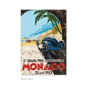 Ferencz Olivier - Racing Legends - Monaco - Plakat 1933