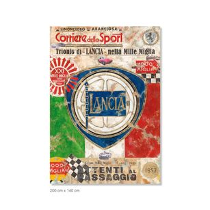 Ferencz Olivier - Racing Legends - Mille Miglia - Overall Winners - Section Lancia