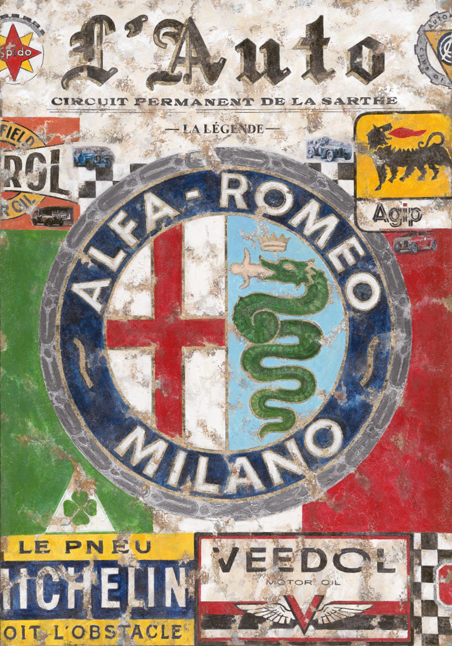 Ferencz Olivier AlfaRomeo - Alfa romeo poster
