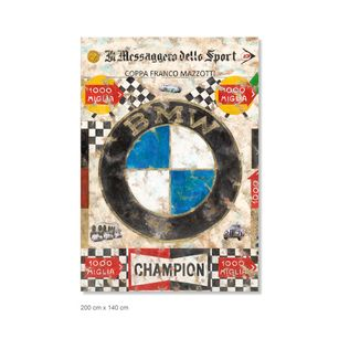 Ferencz Olivier - Racing Legends - Mille Miglia - Overall Winners - Section BMW